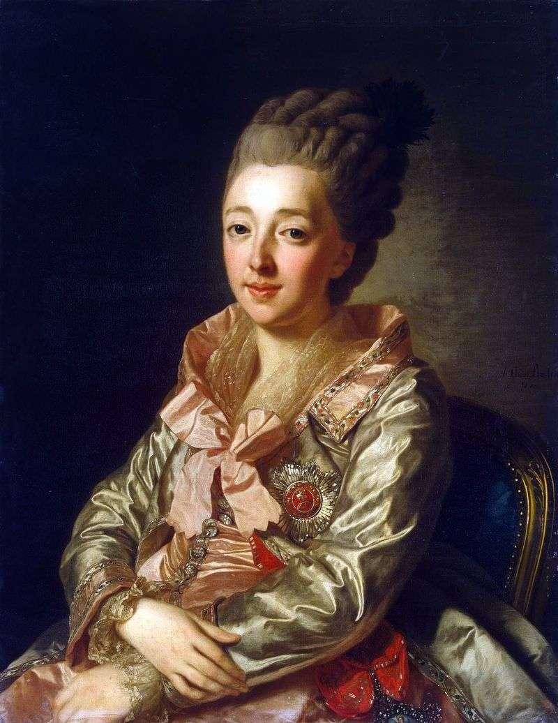 Портрет великої княгині Наталії Олексіївни   Олександр Рослин