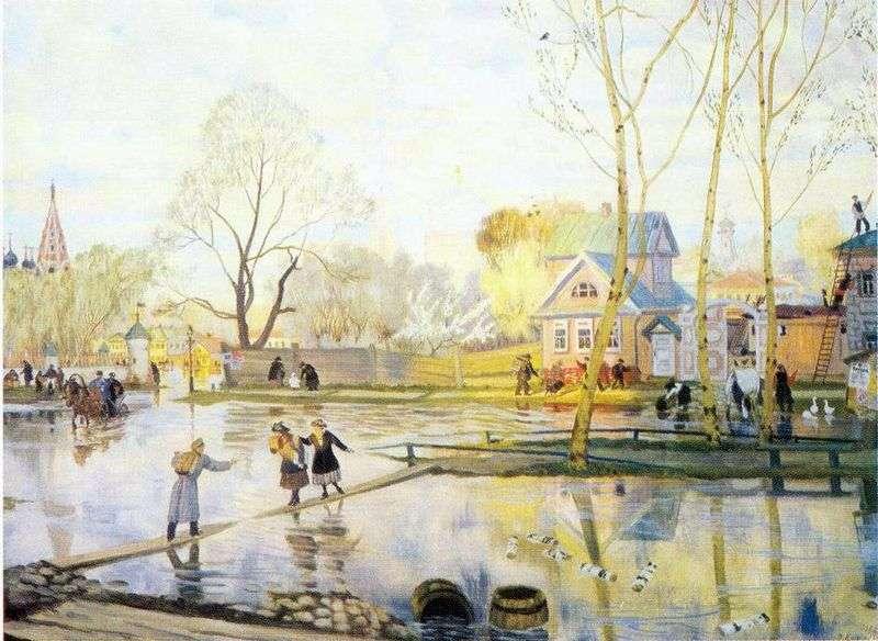Весна   Борис Кустодієв