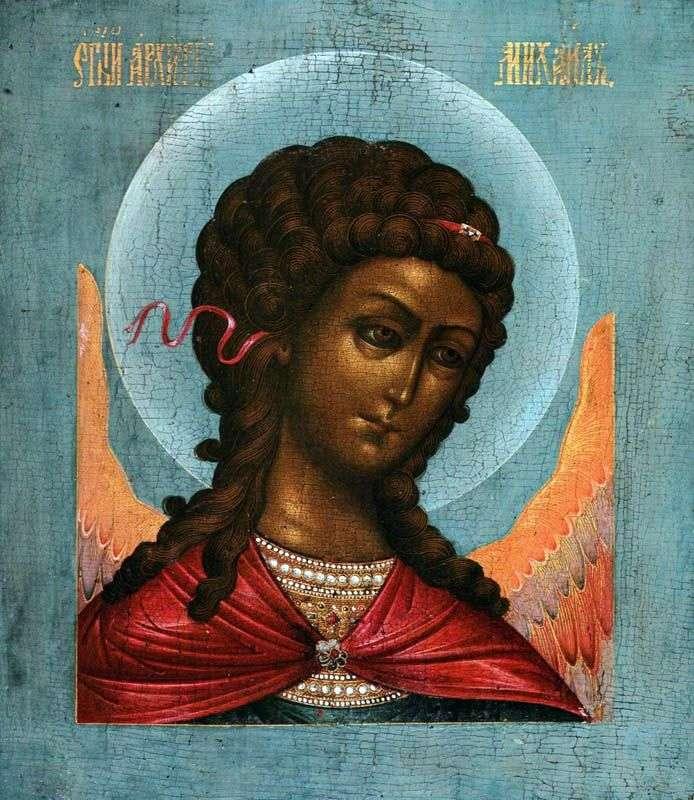 Архангел Михайло, з деісусного чину