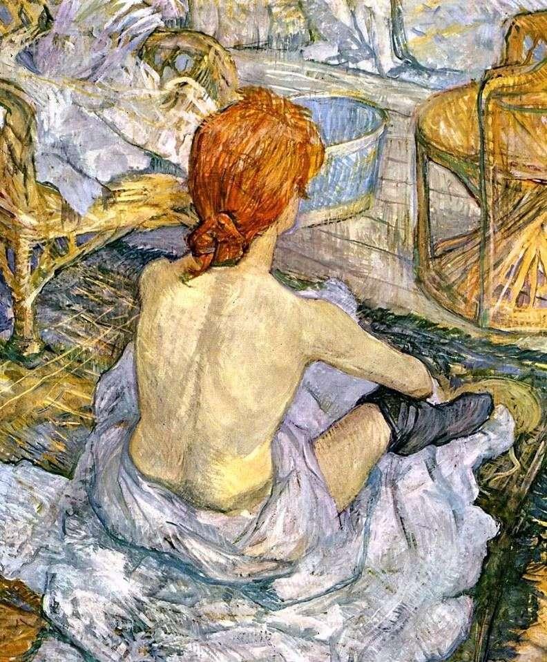 Жінка за туалетом (Туалет)   Анрі де Тулуз Лотрек