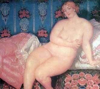 Красуня   Борис Кустодієв