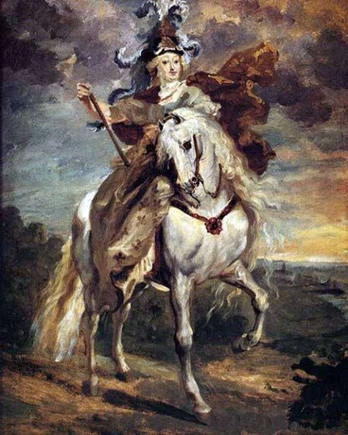 Марія Медічі в бою при Пон де Се   Теодор Жеріко