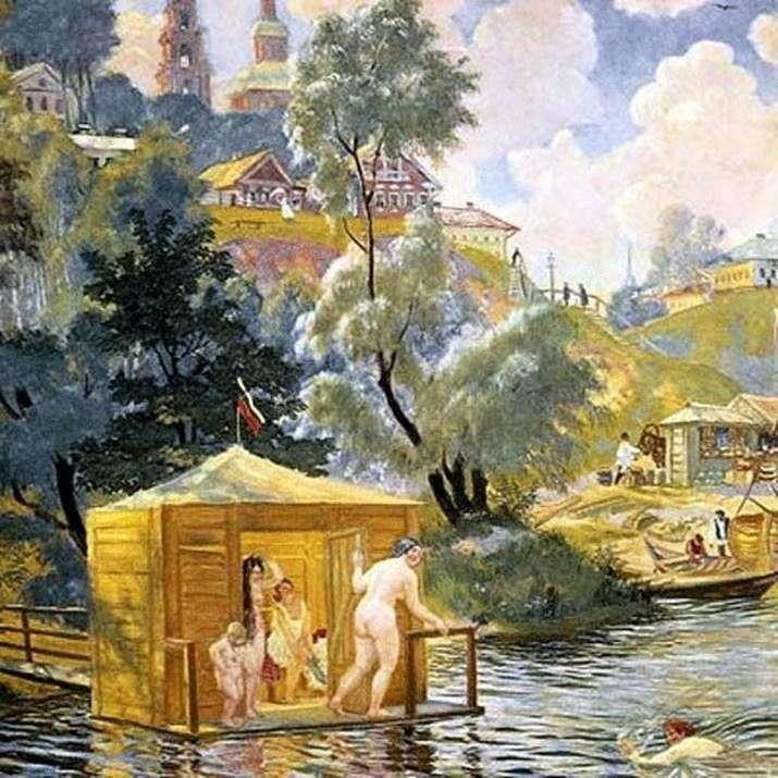 Купання   Борис Кустодієв