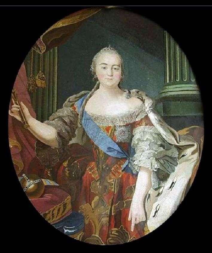Портрет Єлизавети Петрівни