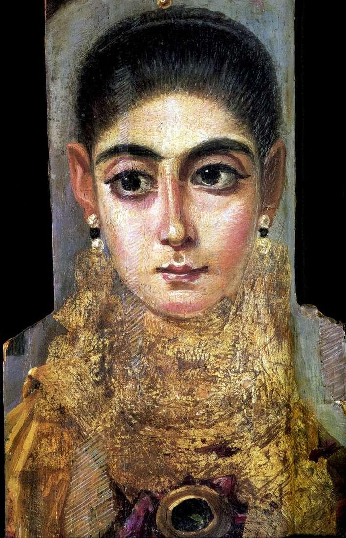 Портрет молодої дами   Фаюмський портрет