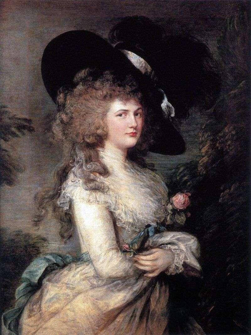 Портрет Джорджиани, герцогині Девонширської   Томас Гейнсборо