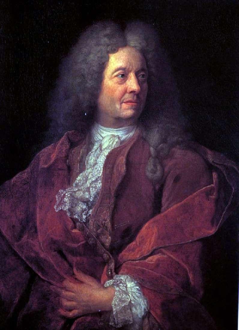 Портрет чоловіка в червоному   Французький майстер початку 18 століття
