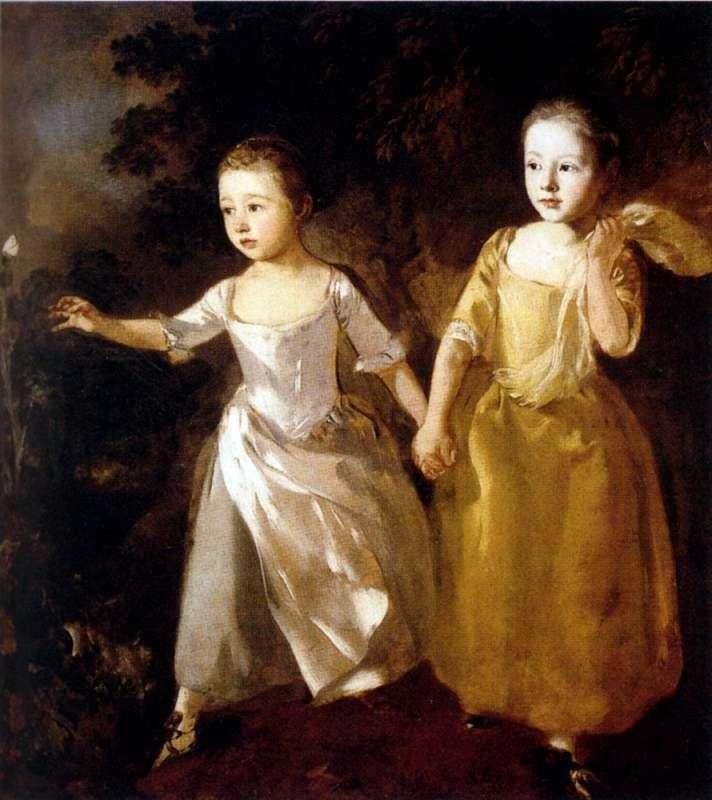 Портрет дочки художника   Томас Гейнсборо
