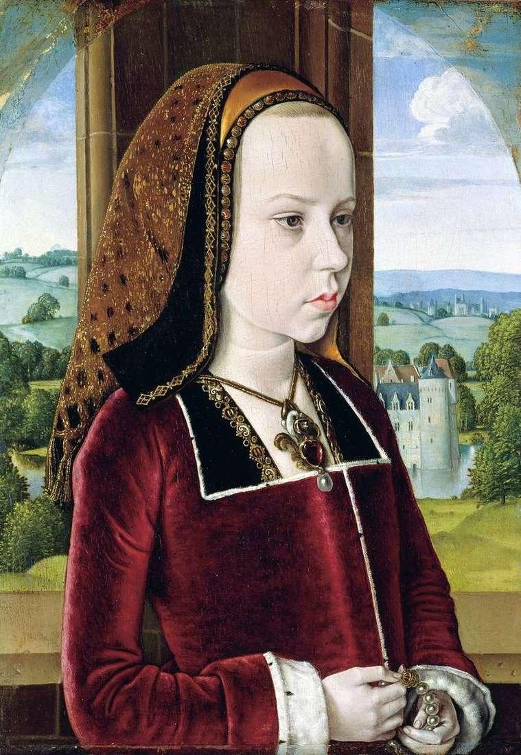 Портрет принцеси   Майстер з Мулена