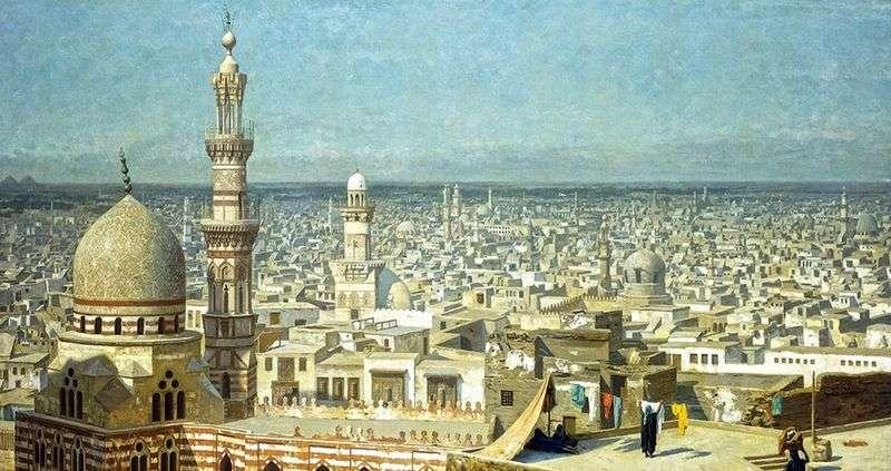 Вид на Каїр   Жан Леон Жероме