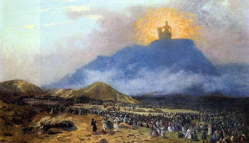 Мойсей на горі Синай   Жан Леон Жероме