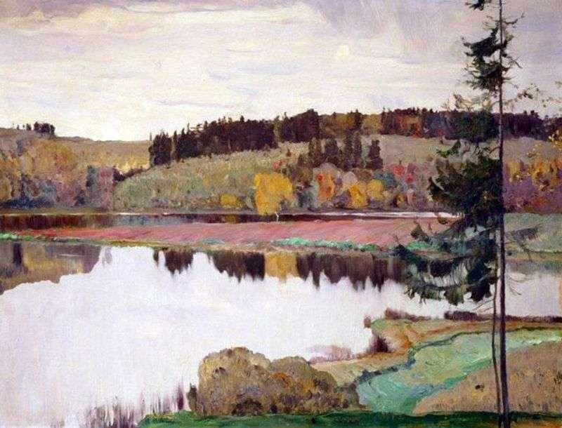 Осінній пейзаж   Михайло Нестеров