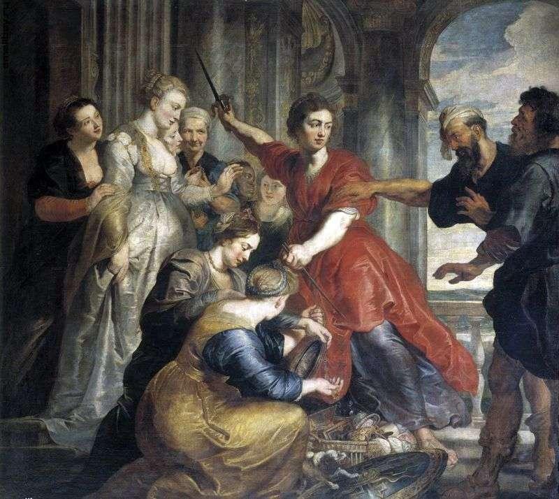 Ахілл, Одіссей і Діомед   Пітер Рубенс