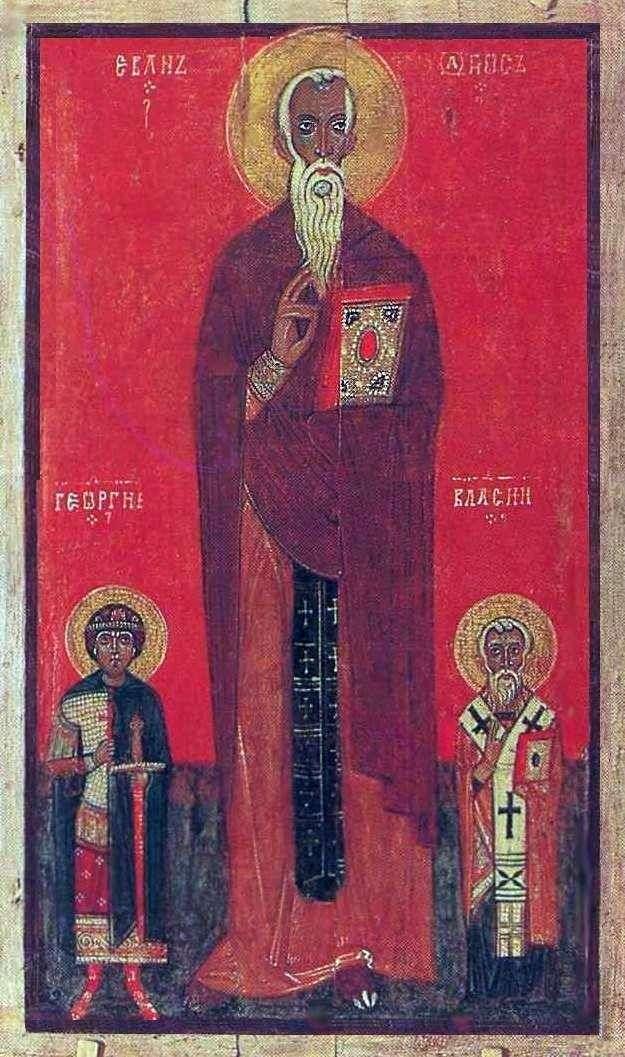 Іоанн Лествичник, Георгій і Власій