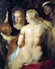 Венера у дзеркала   Пітер Рубенс
