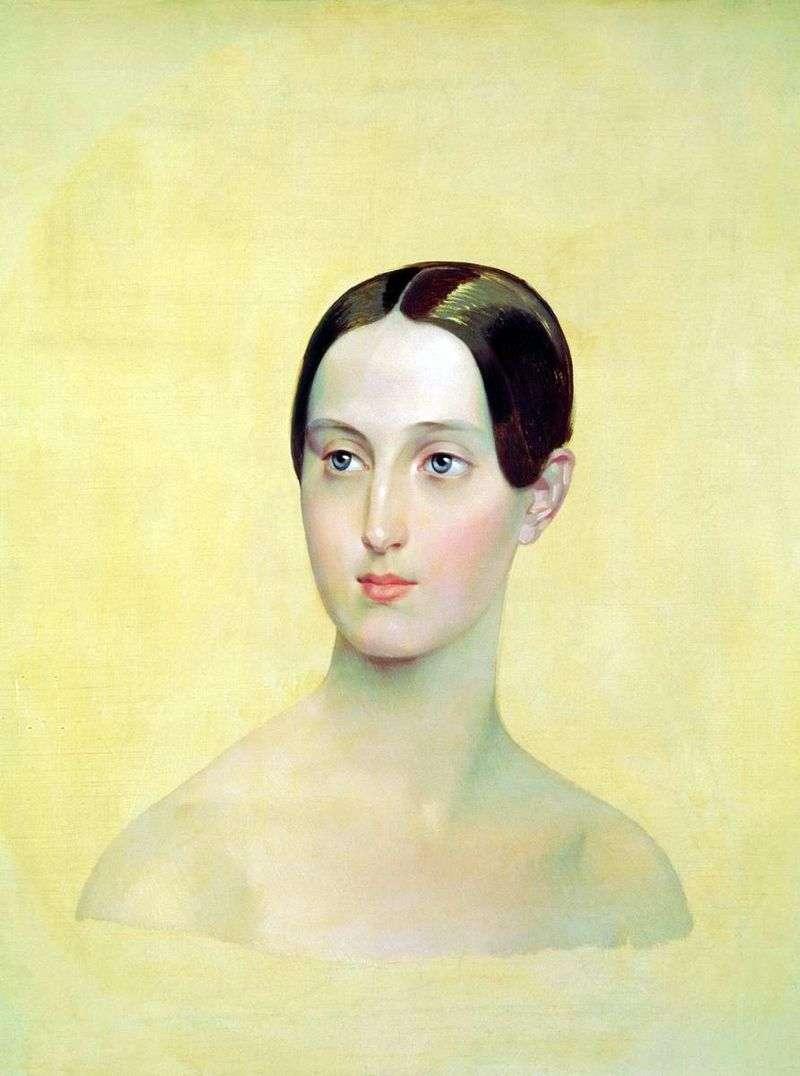 Портрет великої княжни Марії Миколаївни   Карл Брюллов