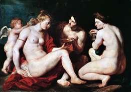 Венера, Купідон, Бахус і Церера   Пітер Рубенс