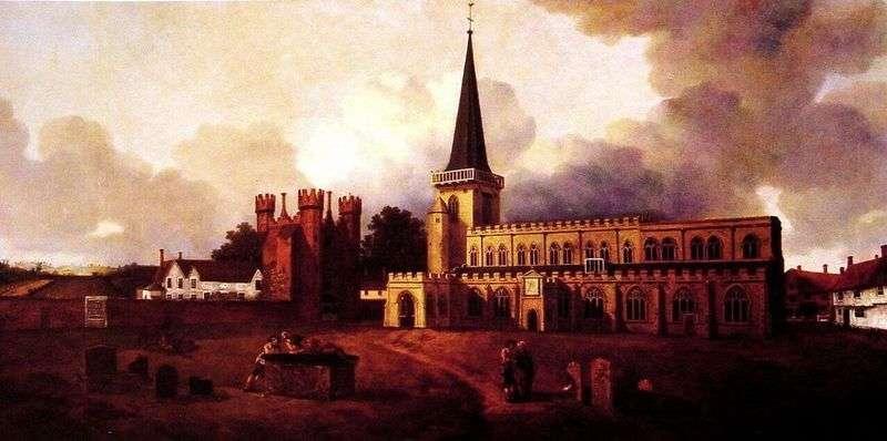 Церква святої Марії   Томас Гейнсборо