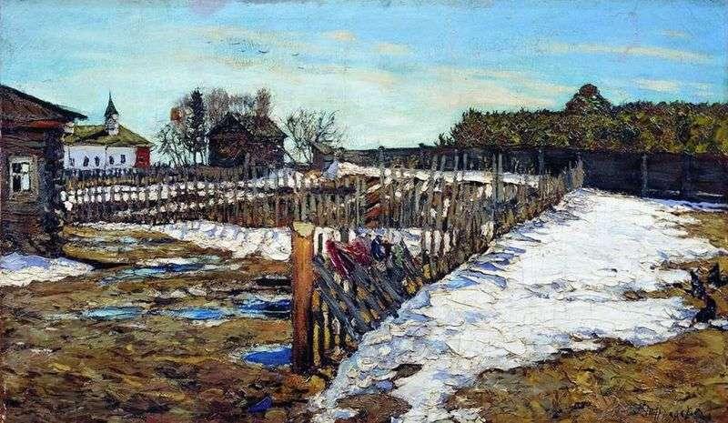 Весна в західному краї   Леонард Туржанський