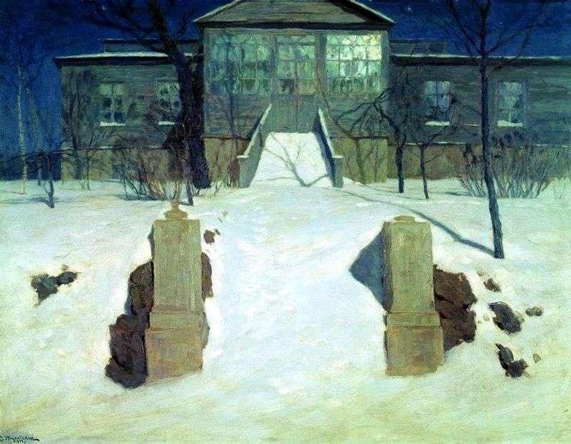 Місячна ніч   Станіслав Жуковський