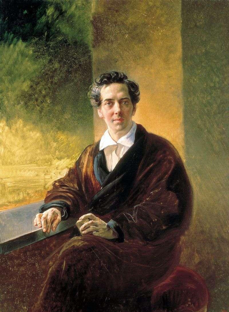 Портрет графа B. А. Перовського   Карл Брюллов