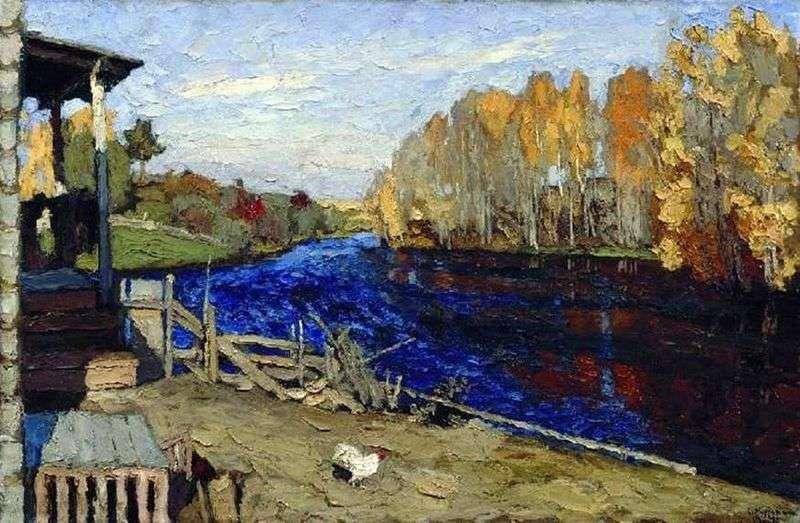 Осінь (Біля ставу)   Станіслав Жуковський