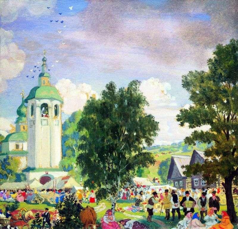 Сільський свято   Борис Кустодієв