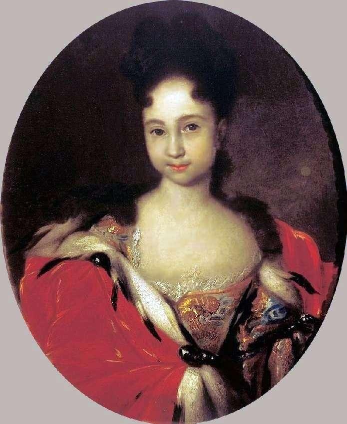 Портрет Ганни Петрівни, дочки Петра 1   Іван Нікітін