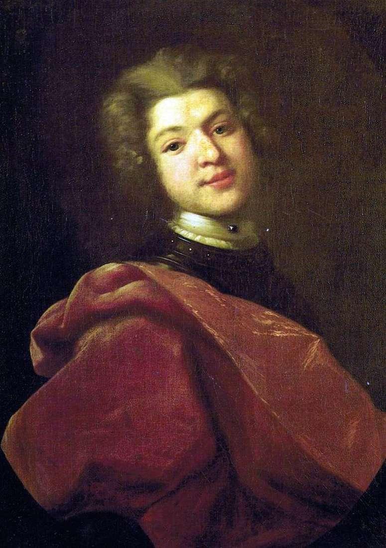 Портрет барона Сергія Григоровича Строганова   Іван Нікітін