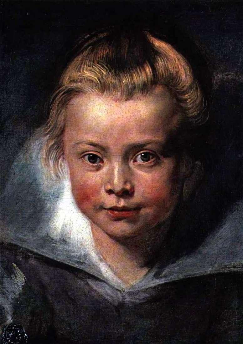 Голова дитини   Пітер Рубенс