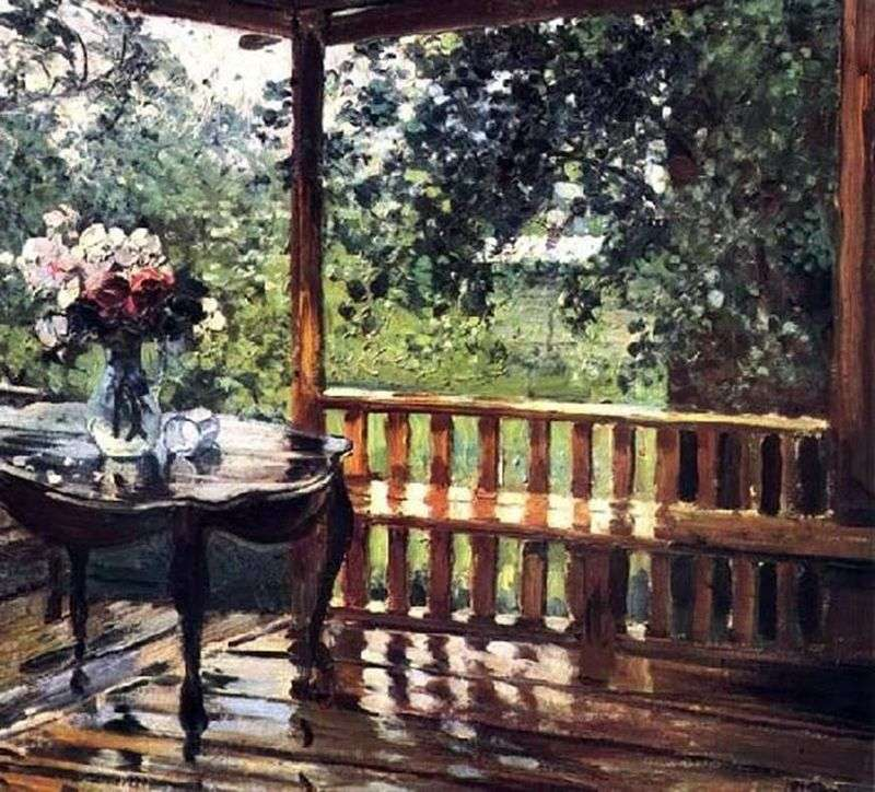 Після дощу (Мокра тераса)   Олександр Герасимов