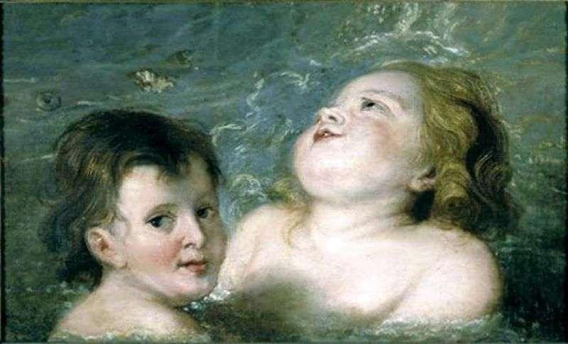 Два хлопчика   Пітер Рубенс