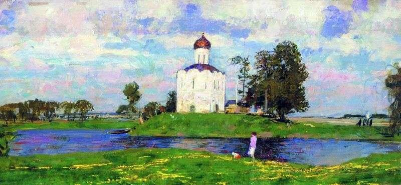 Церква Покрови на Нерлі   Сергій Герасимов