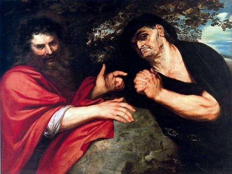Демокріт і Геракліт   Пітер Рубенс