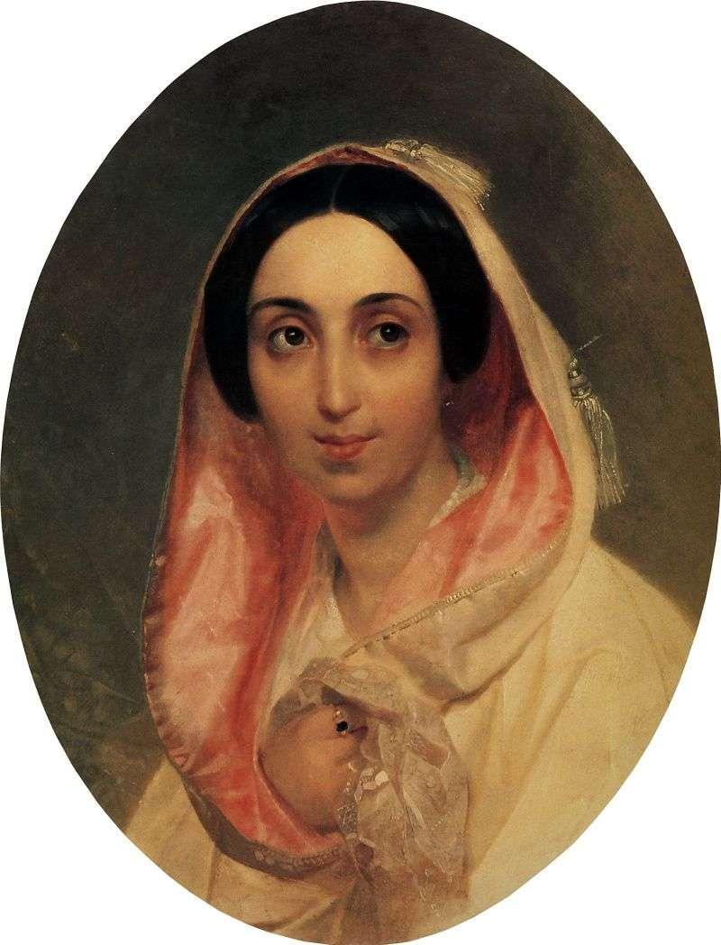 Портрет княгині А. А. Багратіон   Карл Брюллов