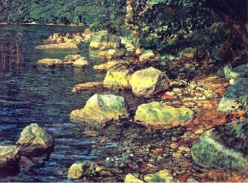 Вода і каміння під Палаццуоло, поблизу Флоренції   Олександр Іванов