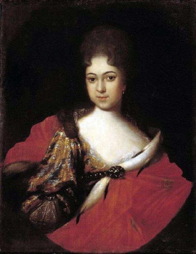 Портрет царівни Параски Іоанівни   Іван Нікітін