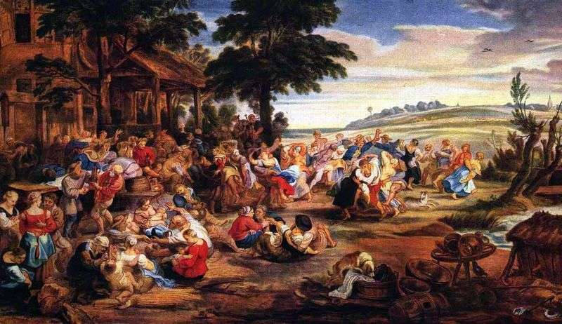 Сільський свято   Пітер Рубенс