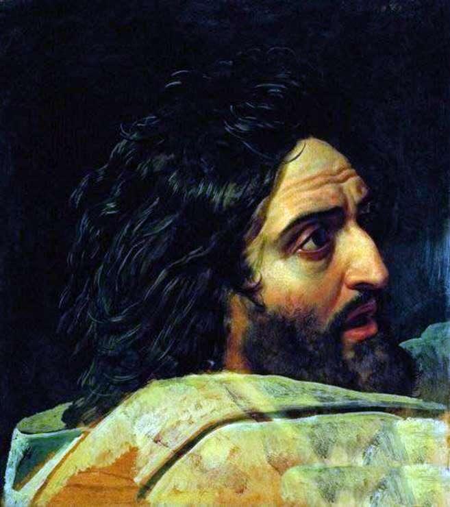 Образ Івана Хрестителя. Фрагмент картини   Олександр Іванов