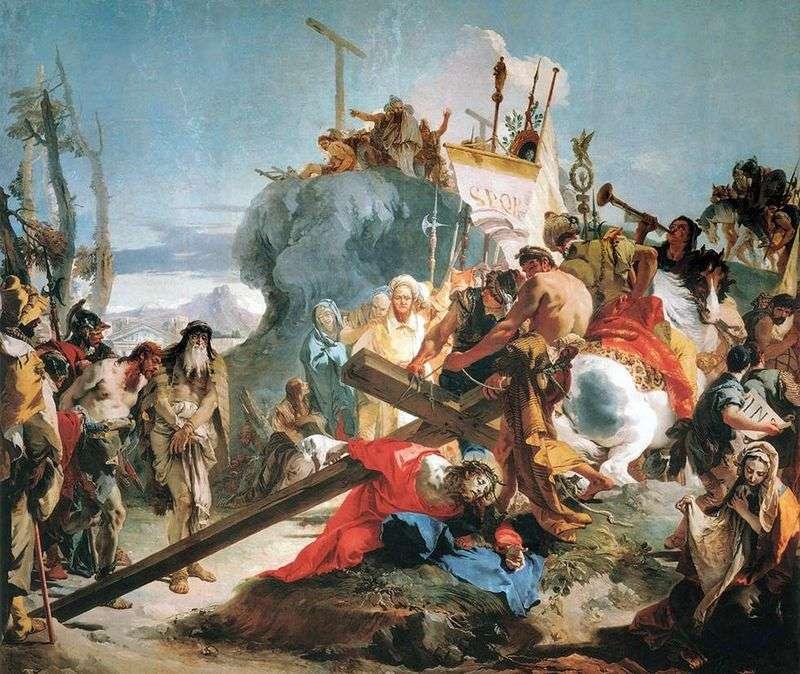 Несення хреста   Джованні Баттіста Тьєполо