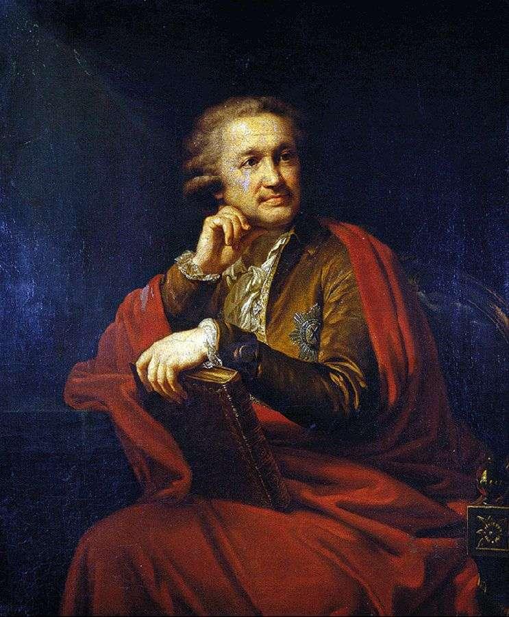 Портрет А. С. Строганова   Йоганн Баптист Лампі