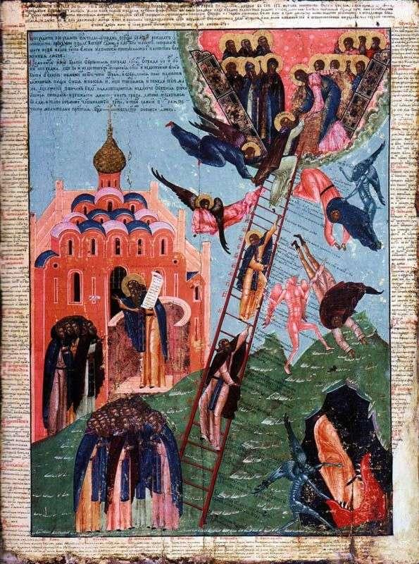 Святий Іоанн Лествичник і образ чернечого сходження
