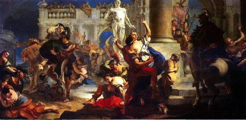 Викрадення сабінянок   Джованні Баттіста Тьєполо
