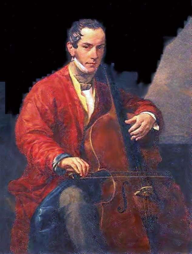 Портрет музиканта М. Ю. Виельгорского   Карл Брюллов