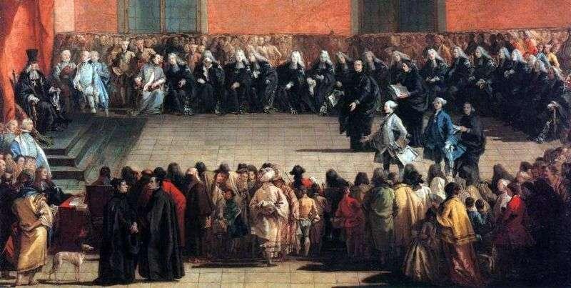 Збори в Арені   Джованні Баттіста Тьєполо
