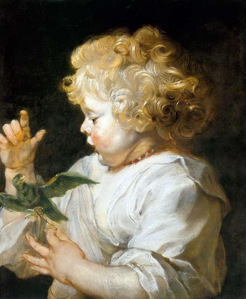 Хлопчик з пташкою   Пітер Рубенс