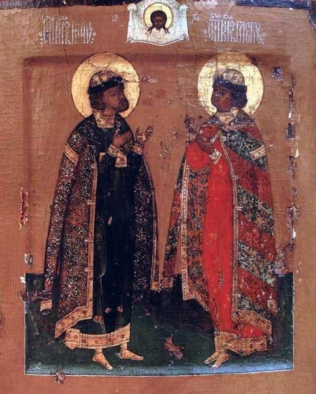 Святі князі Борис і Гліб