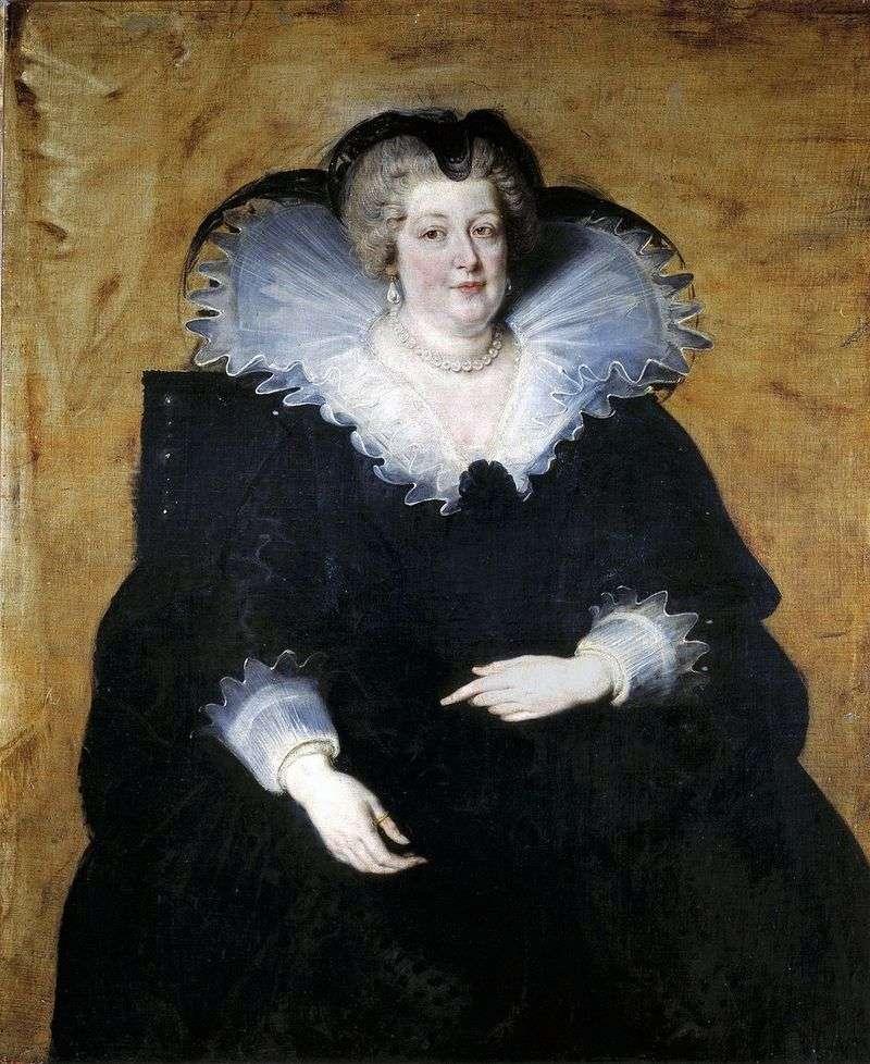 Марія Медічі   королева Франції   Пітер Рубенс