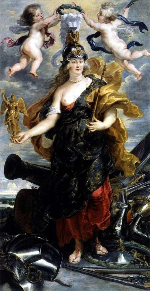 Марія Медічі в образі Беллони   Пітер Рубенс