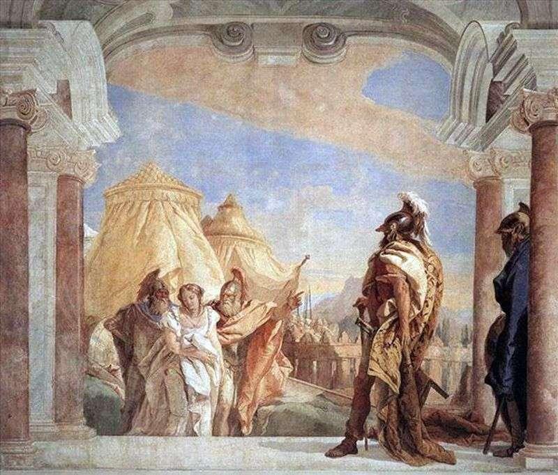 Эврибат і Талфибий, провідні Брісеїду до Агамемнона   Джованні Баттіста Тьєполо